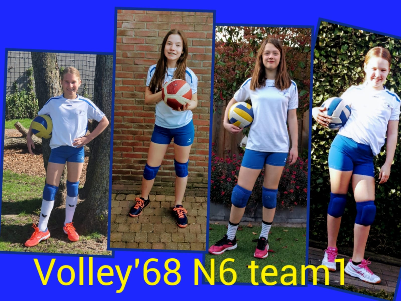 Volley 68 N6 team 1 kampioen